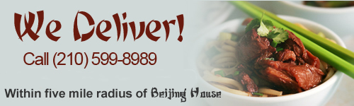Delivery San Antonio - Chinese Food
